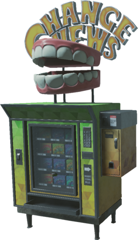 Change Chews Perk Machine IW