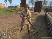 Авери с M1 Garand