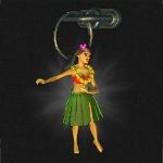 Гавайская танцовщица иконка