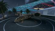 Plaza VTOL Warship BOII