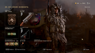 Call of Duty WWII Специалист Меню