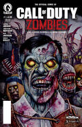 CoD Zombies Comic Issue1 Cover