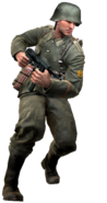 German soldier model CoD3