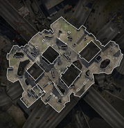 Interchange top down map