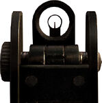 MW2 M4A1 Iron Sights