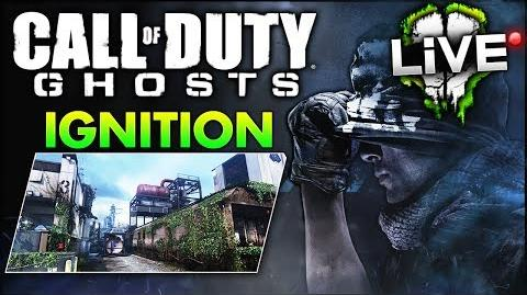 """Call of Duty Ghosts """"IGNITION"""" Scrapyard Remake - Onslaught DLC Gameplay! (CoD Ghost Multiplayer)"""