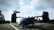 VTOL on U.S.S. Barack Obama BOII