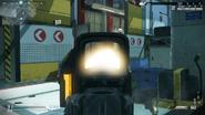 Стрельба с голографа в код г