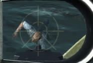 Харрис в воде