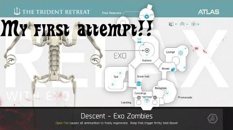 Call of Duty AW Exo Zombies 'Descent' Gameplay