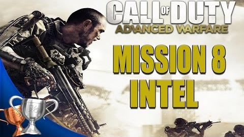 Call of Duty Advanced Warfare - All Intel Locations - Mission 8