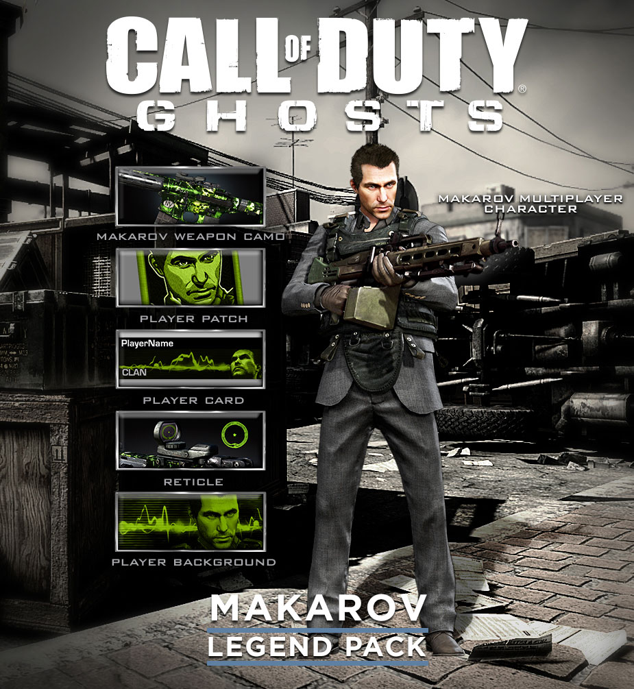 Makarov Legend Pack | Call of Duty Wiki | FANDOM powered by Wikia
