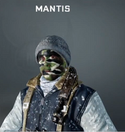 Mantis Face Paint BO