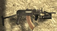 AK-74u with grenade launcher