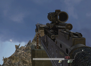 M240 ACOG Scope MW2