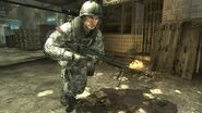 Spetsnaz Soldier with MG36 MW3