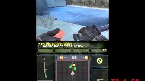 Call of Duty Modern Warfare 3 Defiance - Nintendo DS Gameplay