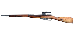CoD1 Weapon Nagant Scoped