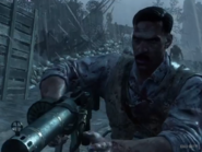 MG 08 held by Edward Richtofen Origins BOII