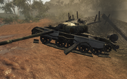 Destroyed T-55 S.O.G. BO