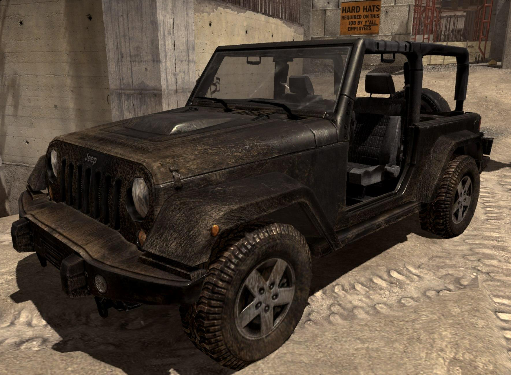 Black ops 2 jeep wrangler