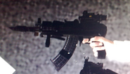 AK-74u all attachments MW3