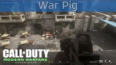 Call of Duty 4 Modern Warfare Remastered - War Pig Walkthrough HD 1080P 60FPS