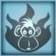 Grillowana małpa obrazek osiągnięcia