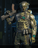 Ruin Warrior outfit BO3