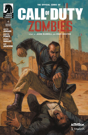 CoD Zombies Comic2 Issue1 Cover