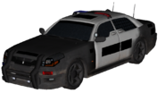 LAPD Squad Car model BOII