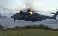 Pave Low going down Loose Ends MW2