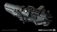 Mauler Sentinel 3D model concept 1 IW