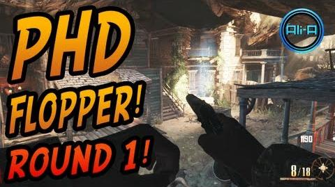 """BURIED"" Zombies - ""PHD FLOPPER"" Perma Perk ROUND 1 Tutorial! - Black Ops 2 Vengeance DLC!"