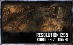 Borough menu selection BO2
