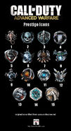 Call of duty advanced warfare prestiges