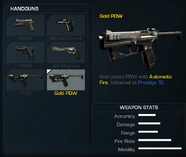Gold PDW