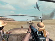 Junkers 87 over British convoy CoD2