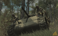 M4 Sherman soldiers riding WaW