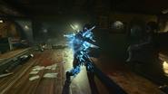 Ray Gun Mark II-X zamrożony zombie