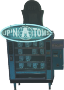 Up 'N Atoms Perk Machine Figure Down IW