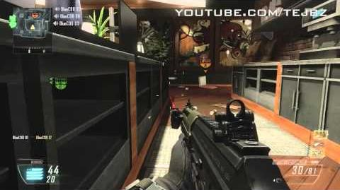 BLACK OPS 2 GAMEPLAY 2 - Killstreaks Hellstorm - SIG556 SMR - MULTIPLAYER REVEAL