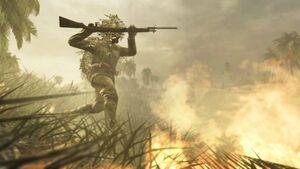 Banzai Charger Arisaka Bayonet WaW