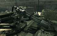 Minigun mounted on Abrams MW3