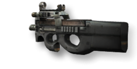 Weapon p90 mw2
