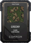 Greeny Camo Supply Drop Card MWR