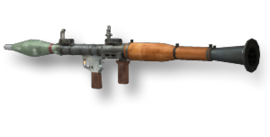 Weapon rpg7 mw2
