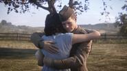 Daniels Hazel hug WWII