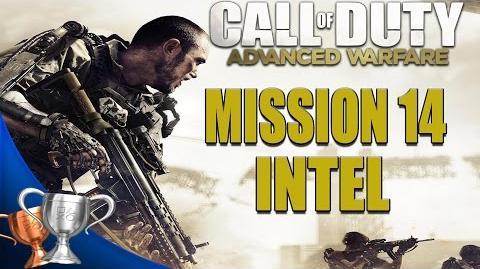 Call of Duty Advanced Warfare - All Intel Locations - Mission 14