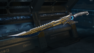 Fury's Song Gunsmith Model Gold Camouflage BO3